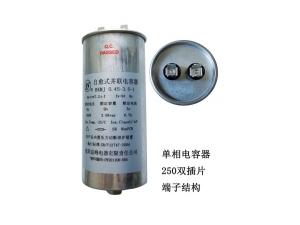 single-phase capacitor   250#