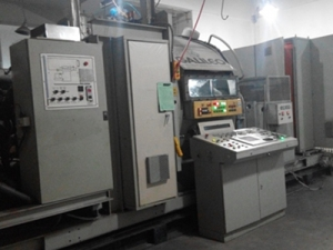 Italy galiles coating machine