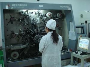 Swiss nurse winding machine