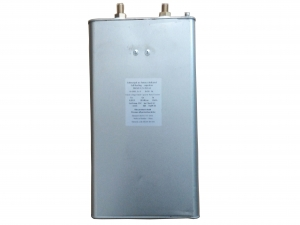 Special capacitor for shell and shell